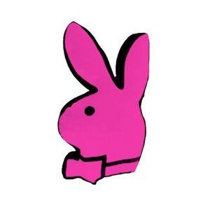 Pink Playboy Bunny Pillow